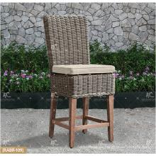 COLECCIÓN de ALAND - La tabla de la barra de la rota del mimbre de la resistencia ULTRAVIOLETA caliente 2017 ULTRAVIOLETA y 2 sillas Muebles de jardín al aire libre