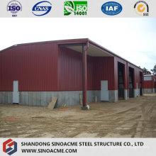 Construção de estrutura de metal para armazenamento móvel