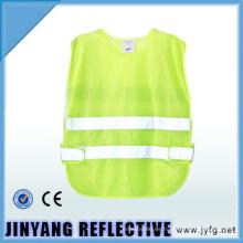 chaleco de seguridad reflectante alta visibilidad baja elástico hilado para niños