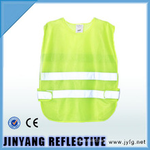 high visibility Low-elastic yarn reflective security vest for children