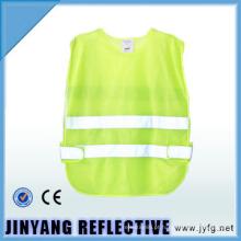colete de segurança refletivo alta visibilidade baixa-elástico fio para crianças