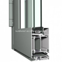 Custom Hinged System Double Glazing Aluminum Door