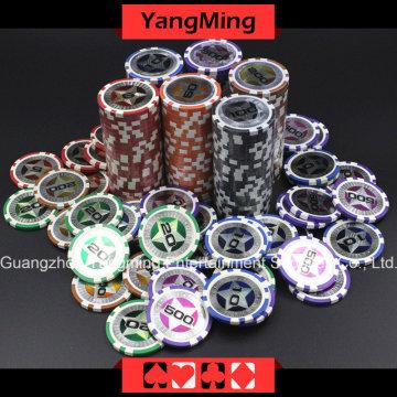 Фишки для покера European Star Clay (YM-CY02)