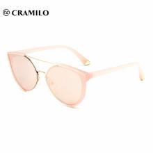 2018 custom logo fancy lady sunglasses for wholesale