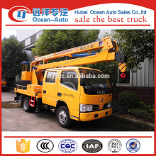 12m Dongfeng new condition Double Cab elevating platform truck for sale