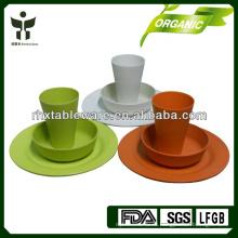 China 2015 новая бамбуковая посуда комплект