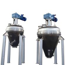 Вертикальный конический вакуумный смеситель из нержавеющей стали
