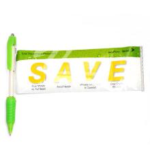 Preiswerter netter Plastikfahnen-Stift kundengebundener Stift
