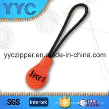 Custom disponibles tejidos cuerda Zip tirones para ropa de los niños