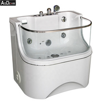 Aokeliya Canada pet grooming bath tub in laundry room for large dogs