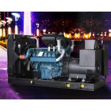 625kVA 500kw Doosan Soundproof Silent Diesel Electric Generator Set