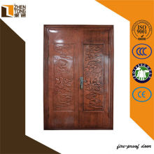 Chinese Front entry steel double swing door for villa