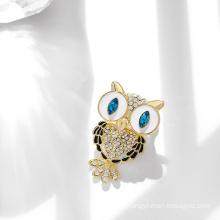 DARA Fashion Trend Owl Brooch Women Brooch