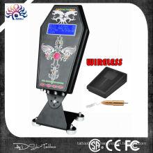 Heißer Verkauf Sarg Hurrikan Tattoo Stromversorgung mit wirelss Fuß Pedel