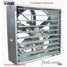 Obturador montado ventilador