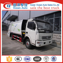 New 10cbm Dongfeng compactor garbage truck price