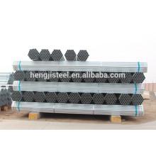 ERW pré-galvanizado redondo tubo de aço suave