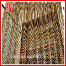 Manufacturing luxury metal hanging curtain for hotel