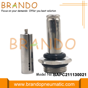 Normal Tutup Pendinginan Solenoid Valve Core Tube Assembly