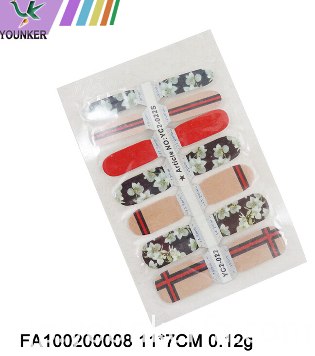 Colorful Nail Sticker02
