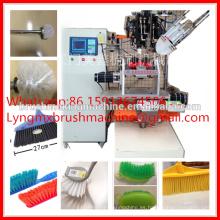 cepillo automático del retrete del alambre del CNC que hace la máquina del pequeño fabricante chino