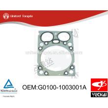 G0100-1003001A оригинал yuchai YC4G прокладка головки блока цилиндров для китайских грузовиков
