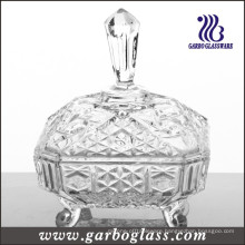 Middle East Type Glass Candy Jar (GB1803R)