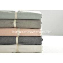 Juego de sábanas de algodón CVC de 200tc, sábana, ropa de cama