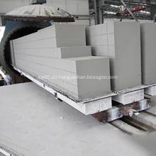 Planta de fabricación de bloques AAC con cenizas volantes
