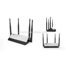AC1200 concurrent 2.4G+5G wireless router,with 4 External antennas, wifi range extender,home router