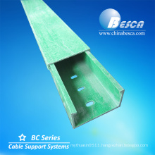 90 degree Circular Arc Shape Elbow Horizontal FRP Cable Tray Manufacture