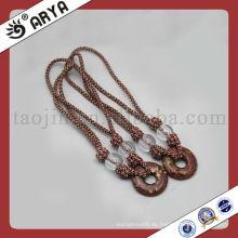 Dekoratives Seil mit Perlen für Vorhangbandage