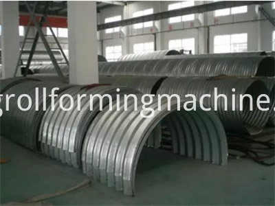 Multi Plates Assembly Corrugated Galvanized Steel Culvert Pipe