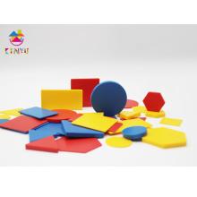 Геометрические фигуры пластиковых плоскостей / Блоки атрибутов (K022)