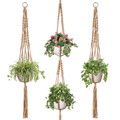macrame pot holder