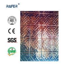 Hoja de acero grabada en relieve de alta calidad (RA-C040)