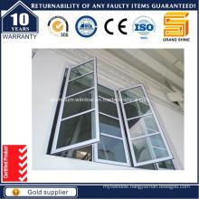 Thermal Break Aluminum/Aluminium Casement Tilt/Awning Glass Bay House Window (CW50)