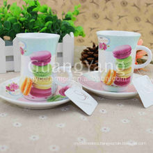 2016 Different Beautiful Flowers Printing New Bone China Animal Cup