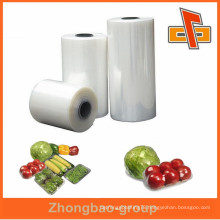 High quality soft clear lldpe stretch film for food wrap zhongbao company manufacturer