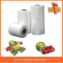 Alta qualidade suave lldpe stretch filme transparente para alimentos wrap zhongbao empresa fabricante