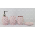Geprägte Keramik Bad Set auf Förderung