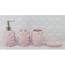 Ensemble de salle de bains en céramique gaufré en promotion