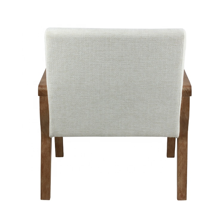 Linen Fabric Restaurant Dining Chairs