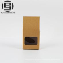 Коричневый крафт-бумага упаковка коробки с патч ручками