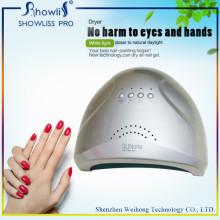 48W Сенсорный датчик Светодиодная лампа Польский гель для ногтей