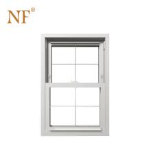 white color upvc double hung windows
