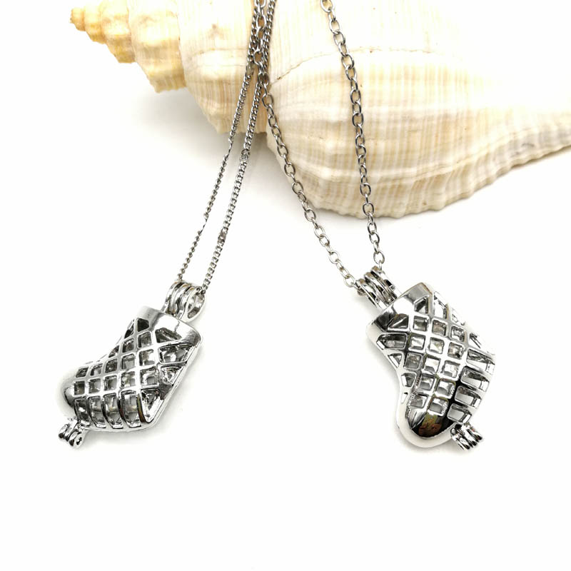 Boot Cage Pendant Chain
