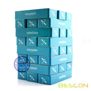 48pcs custom beech wood jenga set for kids, custom jenga game