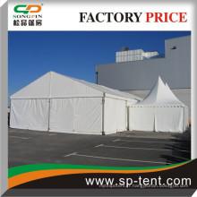Tentes en treillis en aluminium combiné 10X20m à vendre avec 2 pagodes Canopés côte à côte