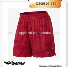 Venta al por mayor de los hombres rojos sexy shorts corriendo proveedor de jinjiang